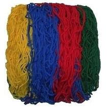 Rede Para Piscina De Bolinha 1,50 X 1,50 Colorida