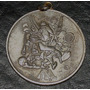 Antigua Medalla Proveduria Deportiva En Alpaca