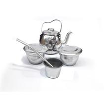 Juego De Mate Aluminio Infantil Set Completo Oferta!