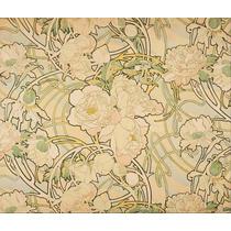 Lienzo Tela Arte Nouveau Alfons Mucha Peonias 1899 90 X 90cm