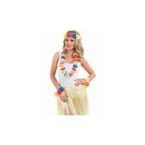 Disfraz Hawaiano - Juego Multi Color Lei Hawaiano