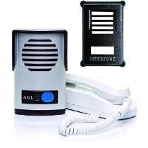Kit Interfone Porteiro Eletronico Agl P10 + Capa Protetora