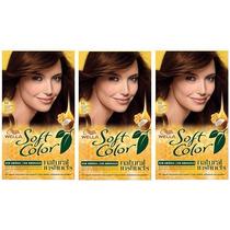 Soft Color Wella Kit 50 Castaño Claro X 3u Consulte Stock