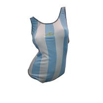 Malla De Natación Argentina Resistente Al Cloro X3 Un.