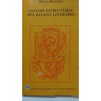Análisis Estructural Del Relato Literario Helena Beristain