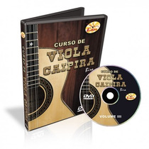 Dvd Edon Curso De Viola Caipira Vol 3 Loja Cheiro De Musica