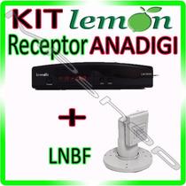 Kit Receptor Parabolica Analogico Digital + Lnbf Multiponto