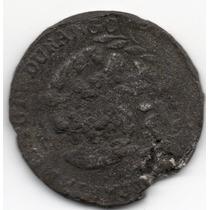 Antigua Moneda Cuartilla 1872 Estado De Durango Plomo