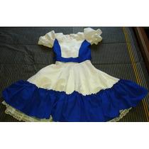 Traje Vestido Cueca Talla 14-16 Nuevo