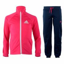 Pants Y Sudadera Entrenamiento Niña 11-12 Años Adidas Ak2015