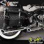 Ponteiras Cobra 3 Sport Cromo Hd Softail Heritage Harley D.