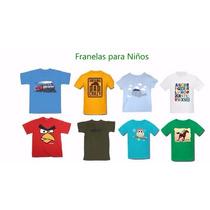 Moldes Patrones Franelas Para Niños De La Talla 2 Al 10