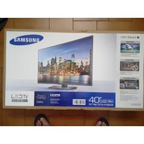 Tv Samsung Led Full Hd 1080 Serie 5 De 40 Plugadas.