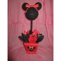 Centro De Mesa Tipo Topiario Mickey O Minnie