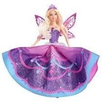 Barbie Butterfly E Princesas Fairy Lilás Mattel