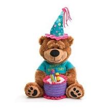 Adorable Feliz Cumpleaños Con La Torta Del Oso De Peluche Q