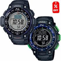 Reloj Casio Outgear Sgw1000 Altímetro Barómetro Brújula-cfmx