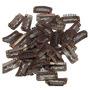 10 Presilhas Tictac Tamanho 3,2cm Para Reposição Em Apliques
