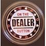 Botão De Metal Para Poker