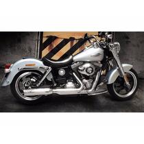 Escapamento Dyna Switchback Dyna Low Rider Regulável Preto