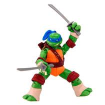 Boneco Leonardo Tartarugas Ninja 12 Cm C/ Acessorios Br030