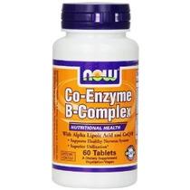 Ahora Foods Co-enzima Tabletas Del Complejo B 60-conde