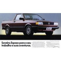 Ombreira + Forro Porta Saveiro Cl Quadrada 92 93 94 95 96 Cz