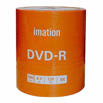 Dvd-r Dvd+r Virgen Imation Estampado Pack X 600 Mayorista