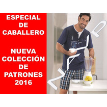 Patrones Lenceria Boxer Interior Pijama Pantalon Caballero
