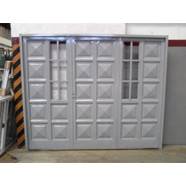 Portón Doble Chapa R/lateral De Abrir 240x200