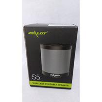Altavoz Zealot S5 Bluetooth,usb,mini-plug,mp3,sd Xtra-bass!