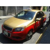 Taxi Aveo Emplacado Del Df.