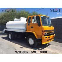Camion Pipa De 10,000 Litros Montada En Camion Gmc 7000