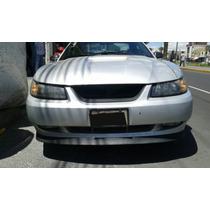 Spoiler Frontal Y Parrilla Para Mustang 2000 A 2004