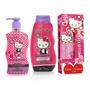 Perfume Hello Kitty Dulzura Shampoo Y Gel De Ducha