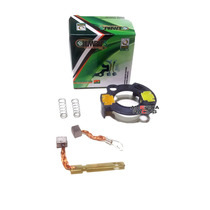 Escova Motor Partida Com Suporte Moto Honda Biz 125