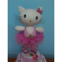 Adorno De Torta Hello Kitty Hermoso!!