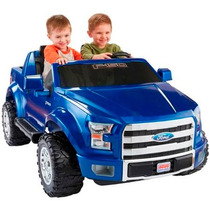 Carro Electrico Fisher Power Wheels 12 Volt Ford F150 Azul