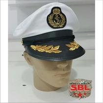 Quepe Capitão Marinha Fantasia