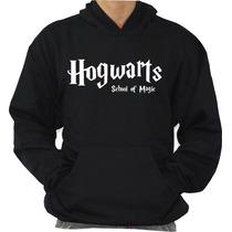 Blusa Hogwarts School Moleton Harry Potter