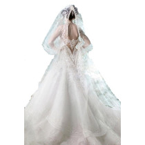 Elegantes Vestidos Novia Boda Matrimonio Damas Y 15 Años