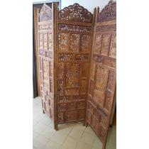 Biombos antiguos orientales tallados muebles antiguos en - Muebles orientales segunda mano ...