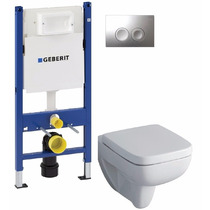 Promokit Keramag Geberit Sanitario Pulsador Cisterna Duofix