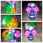 Oferta Nueva Calavera Mexicana Skull Catrina Morada