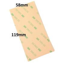 10 Hojas Adhesivas 3m Doble Cara 58mm X 119mm Cinta 300lse