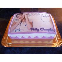 Lamina Comestible Personalizada Fototorta Violetta
