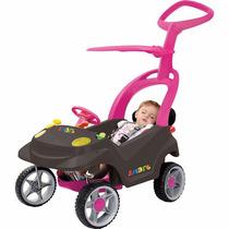 Carrinho Passeio Bebê Smart Baby Confort Rosa Bandeirante