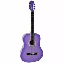 Violão Tagima Memphis Ac39 Nylon Acústico Lilás Musical Baru