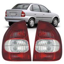Lanterna Modelo Original Corsa Sedan 2000 2001 2003 Cristal