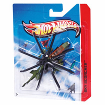 Hot Wheels Aviões Skybusters Sky Scorcher - Mattel